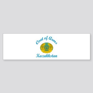 Coat Of Arms Kazakhstan Country D Sticker (Bumper)