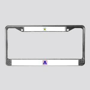 Coat Of Arms Kazakhstan Countr License Plate Frame