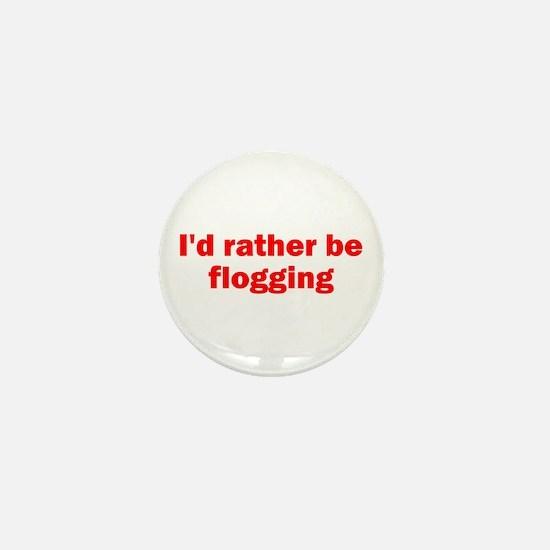 Flogging Mini Button