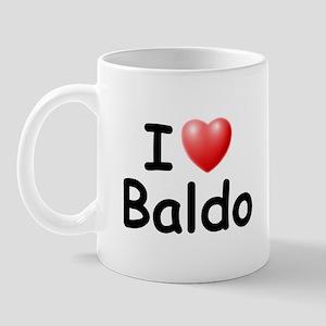 I Love Baldo (Black) Mug