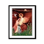 Angel / Ger SH Pointer Framed Panel Print