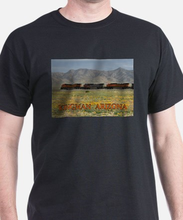 Trains along Route 66 T-Shirt