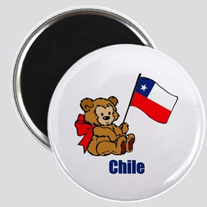 """Chile Teddy Bear 2.25"""" Magnet (10 pack)"""