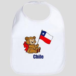 Chile Teddy Bear Bib