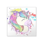 Happy Rainbow Unicorn Sticker