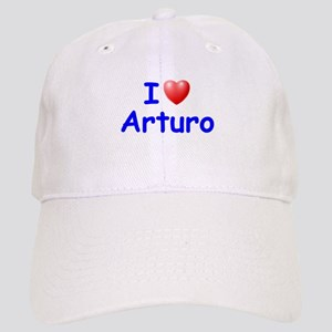 I Love Arturo (Blue) Cap