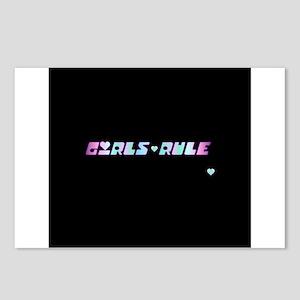 Girls Rule Postcards (Package of 8)