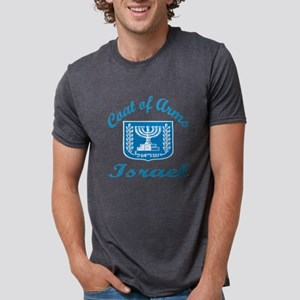 Coat Of Arms Israel Country Mens Tri-blend T-Shirt