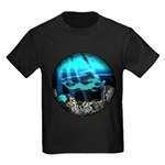 Blue Mermaid Kids Dark T-Shirt