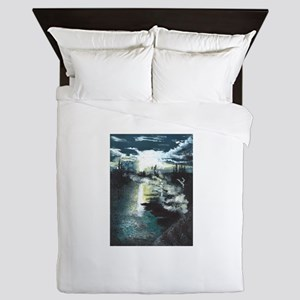Twilight in Yellowstone Queen Duvet