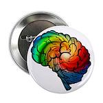 "Neurodiversity Rainbow 2.25"" Button (10 Pack)"