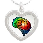 Neurodiversity Rainbow Brain Necklaces