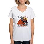 Hells Revenge Women's V-Neck T-Shirt