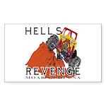 Hells Revenge Rectangle Sticker