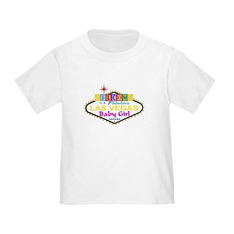 A LV Baby Girl Blocks Toddler T-Shirt