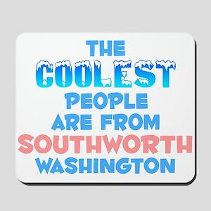 Coolest: Southworth, WA Mousepad