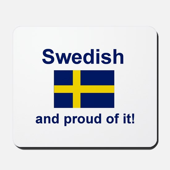 Proud Swede Mousepad