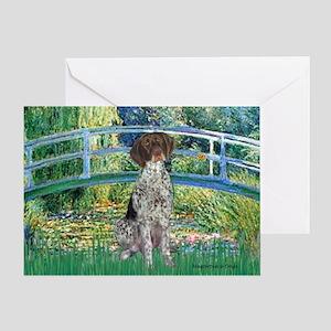 Bridge / Ger SH Pointer Greeting Card