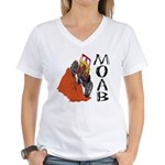 MOAB & 4x4 Women's V-Neck T-Shirt