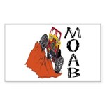 MOAB & 4x4 Rectangle Sticker