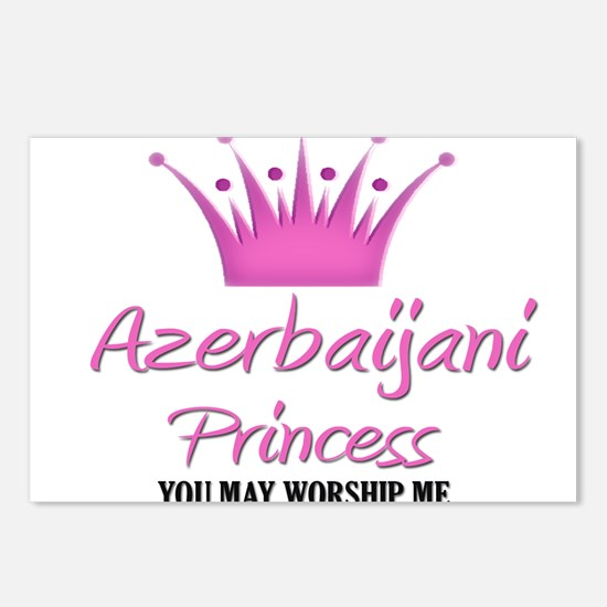 Azerbaijani Princess Postcards (Package of 8)