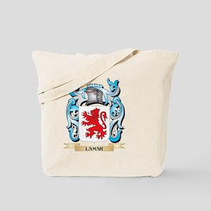 Lamar Coat of Arms - Family Crest Tote Bag