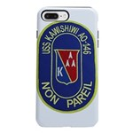USS KAWISHIWI iPhone 8/7 Plus Tough Case