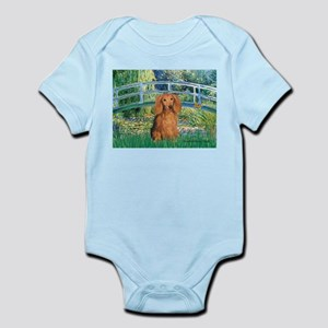 Bridge & Doxie (LH-Sable) Infant Bodysuit