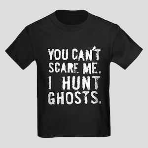 """I Hunt Ghosts"" Kids Dark T-Shirt"