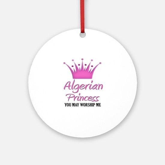 Algerian Princess Ornament (Round)