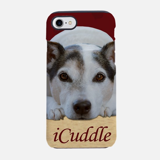 Cute iCuddle Jack Russel Dog iPhone 8/7 Tough Case