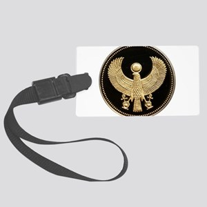 100 Pounds Golden Egyptian Falco Large Luggage Tag