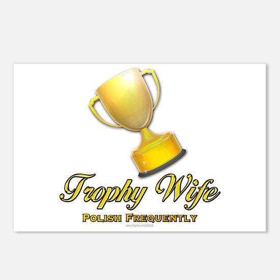 Trophy Wife... Postcards (Package of 8)