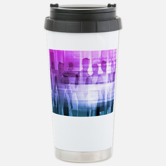 Cute Businessmen Travel Mug
