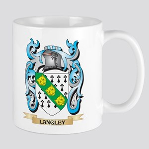 Langley Coat of Arms - Family Crest Mugs