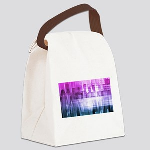 Management Solutio Canvas Lunch Bag