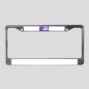 Management Solutio License Plate Frame
