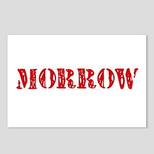 Morrow Retro Stencil Desi Postcards (Package of 8)