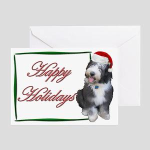OES Santa Happy Holidays Card