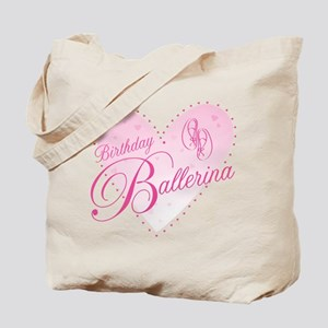 Birthday Ballerina Tote Bag