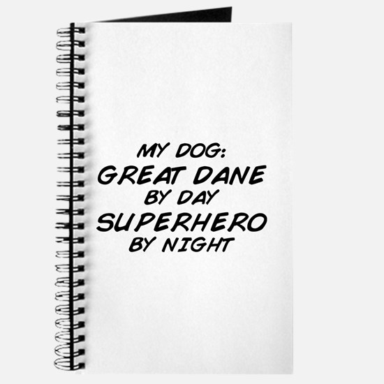 Great Dane Superhero Journal