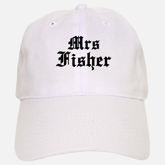 Mrs Fisher Baseball Baseball Cap