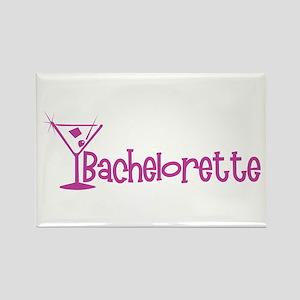 Bachelorette - Dark Pink Mart Rectangle Magnet