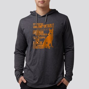 I Love Greman Shepherd T Shirt Long Sleeve T-Shirt