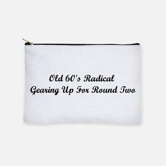 Old 60's Radical Makeup Bag
