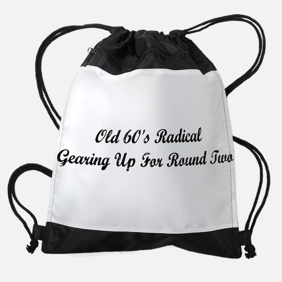 Old 60's Radical Drawstring Bag