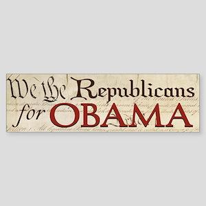 Constitution Republicans Obama Bumper Sticker