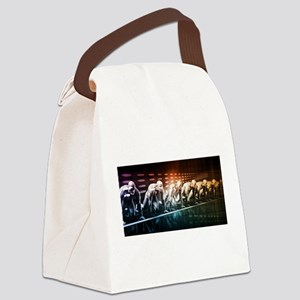 Creative Media and Canvas Lunch Bag