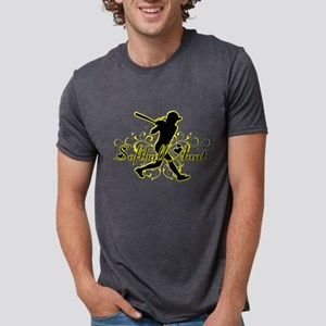 Softball Aunt (silhouette) T-Shirt