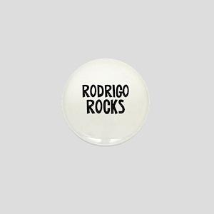 Rodrigo Rocks Mini Button
